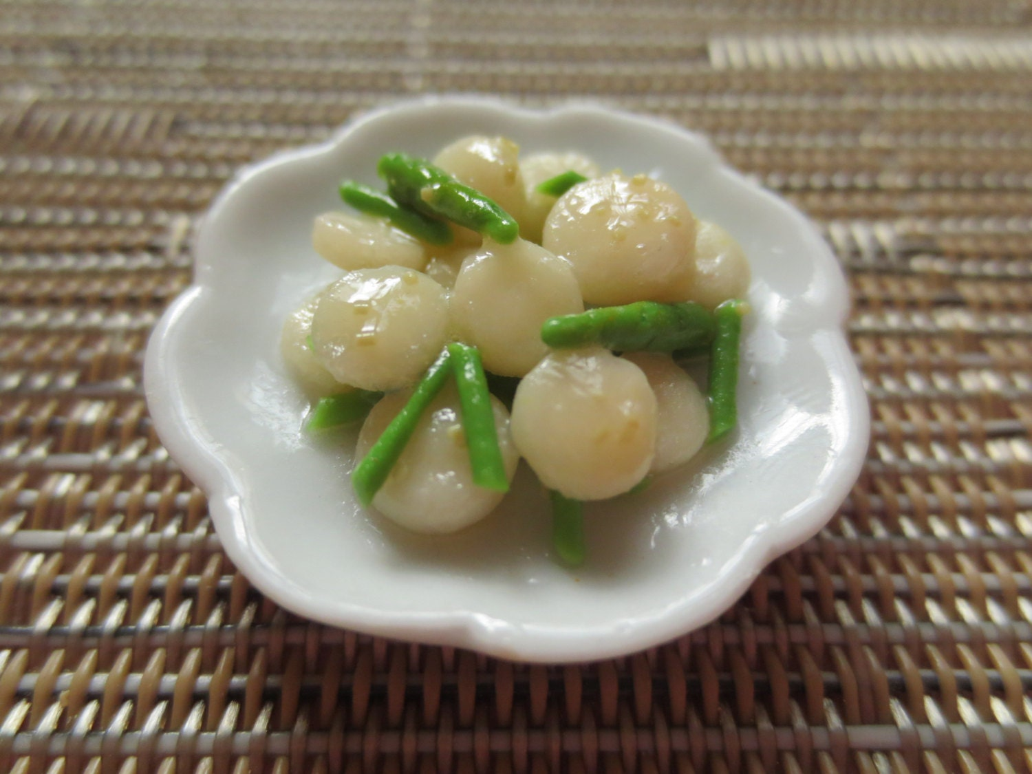 Miniature Scallops with Asparagus | Minis | Pinterest