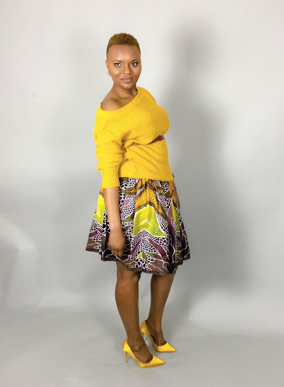 African clothing for women African dress Ankara dress Dashiki dress Womens top Angelina Dashiki skirt African print shirt African