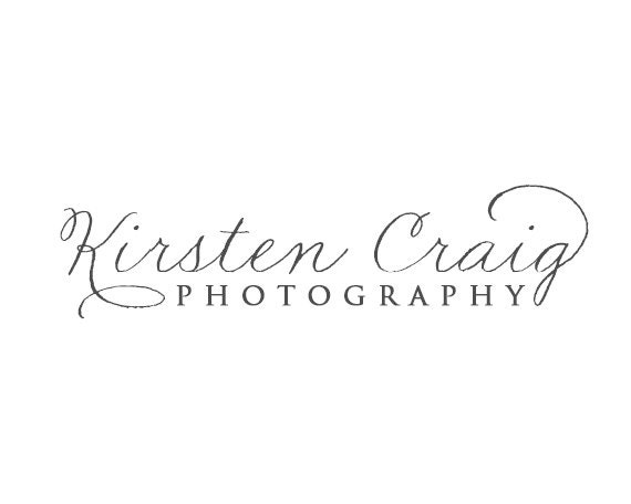 Calligraphy Style Photography Logo Design By Redmeadowdesignco