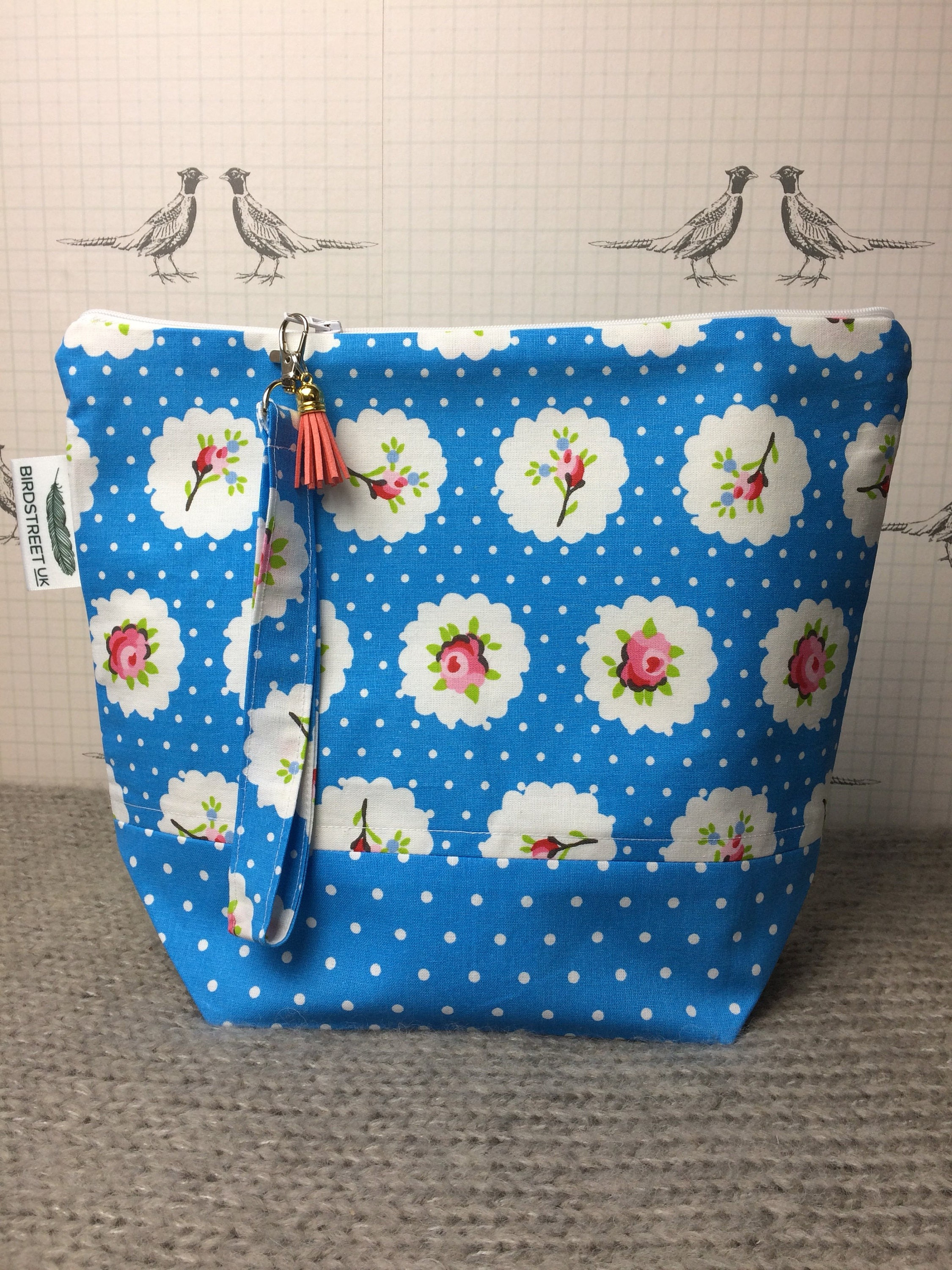 Cath Kidston Style Print Project bag