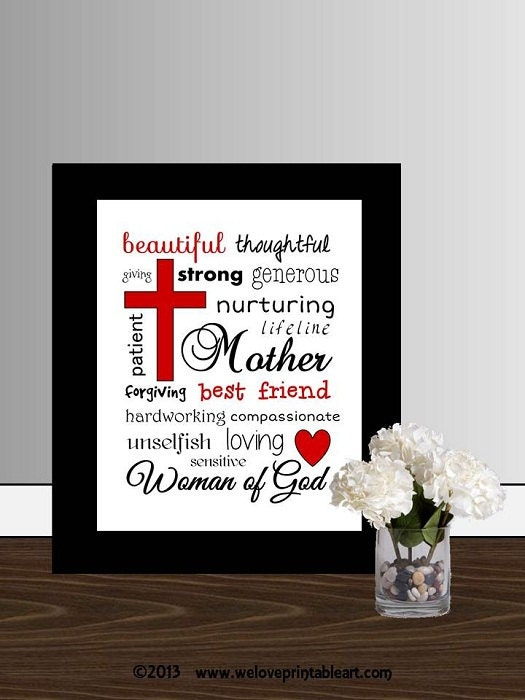 Mother 39 S Day Gifts For Mom Print Wall Art By