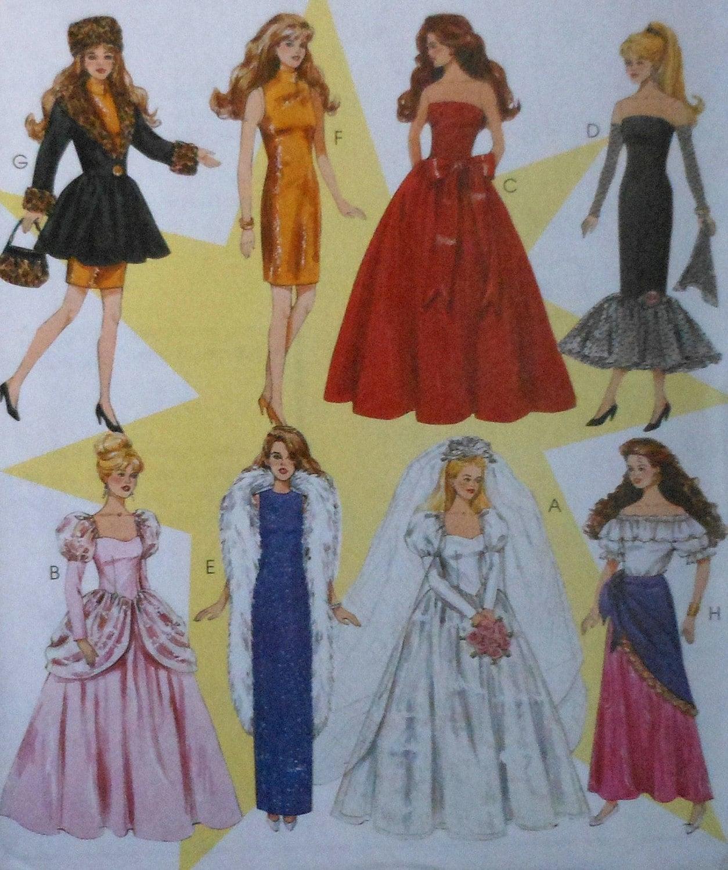 Fashion doll sewing patterns free 51