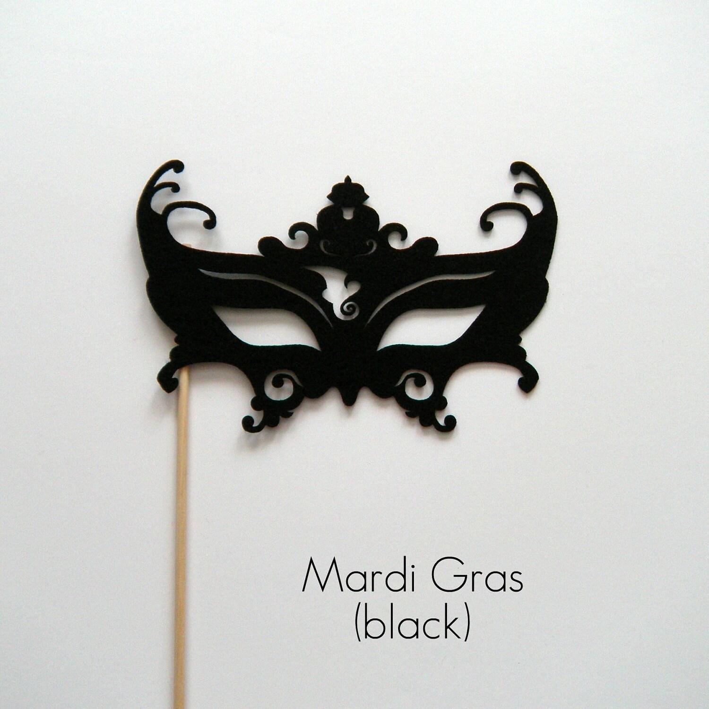 Black And White Masquerade Masks Clip Art Gras Masks Clip Art Black