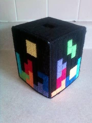 Tetris tissue topper