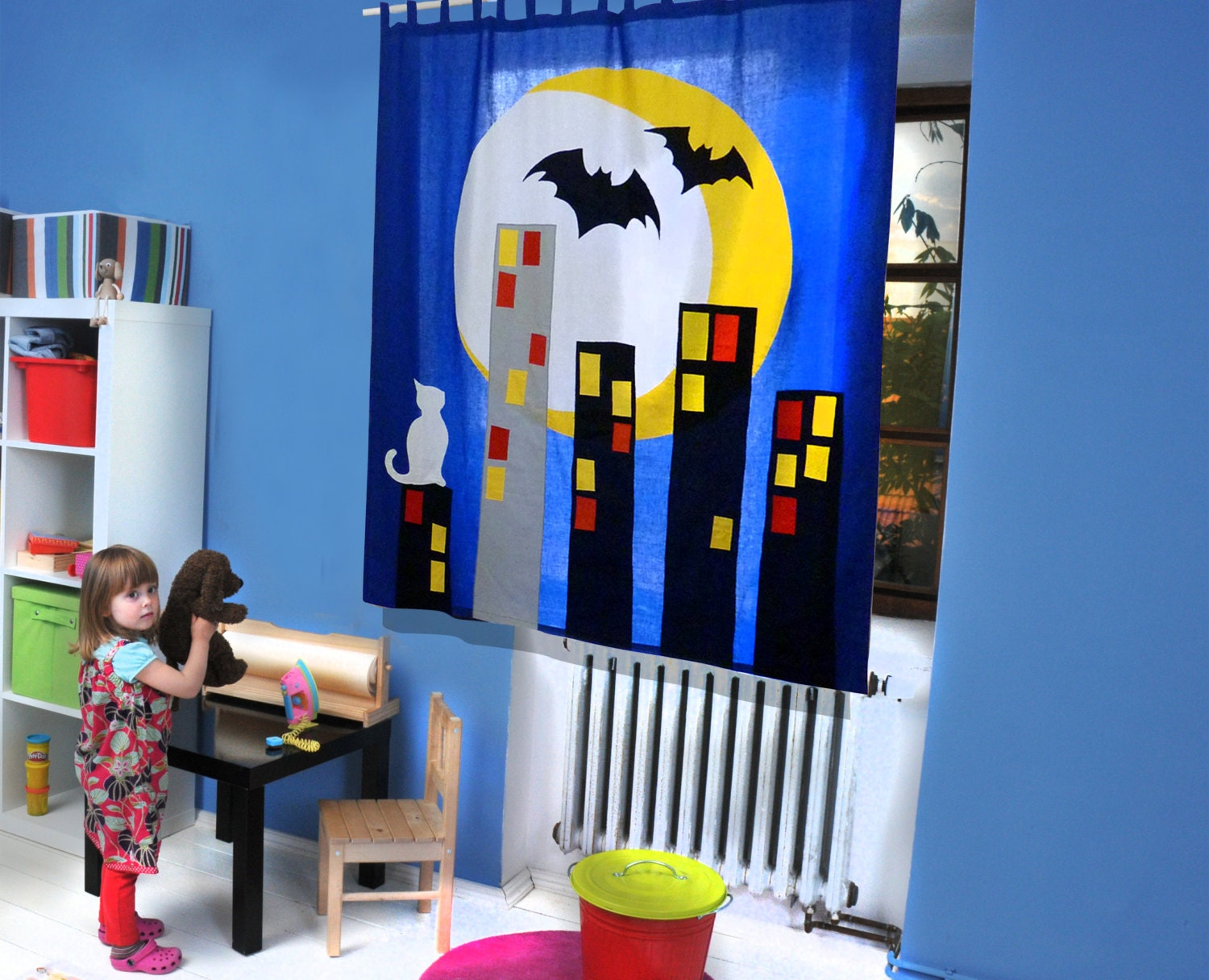 The CITY - CURTAIN for Kids and teenagers - dgmart