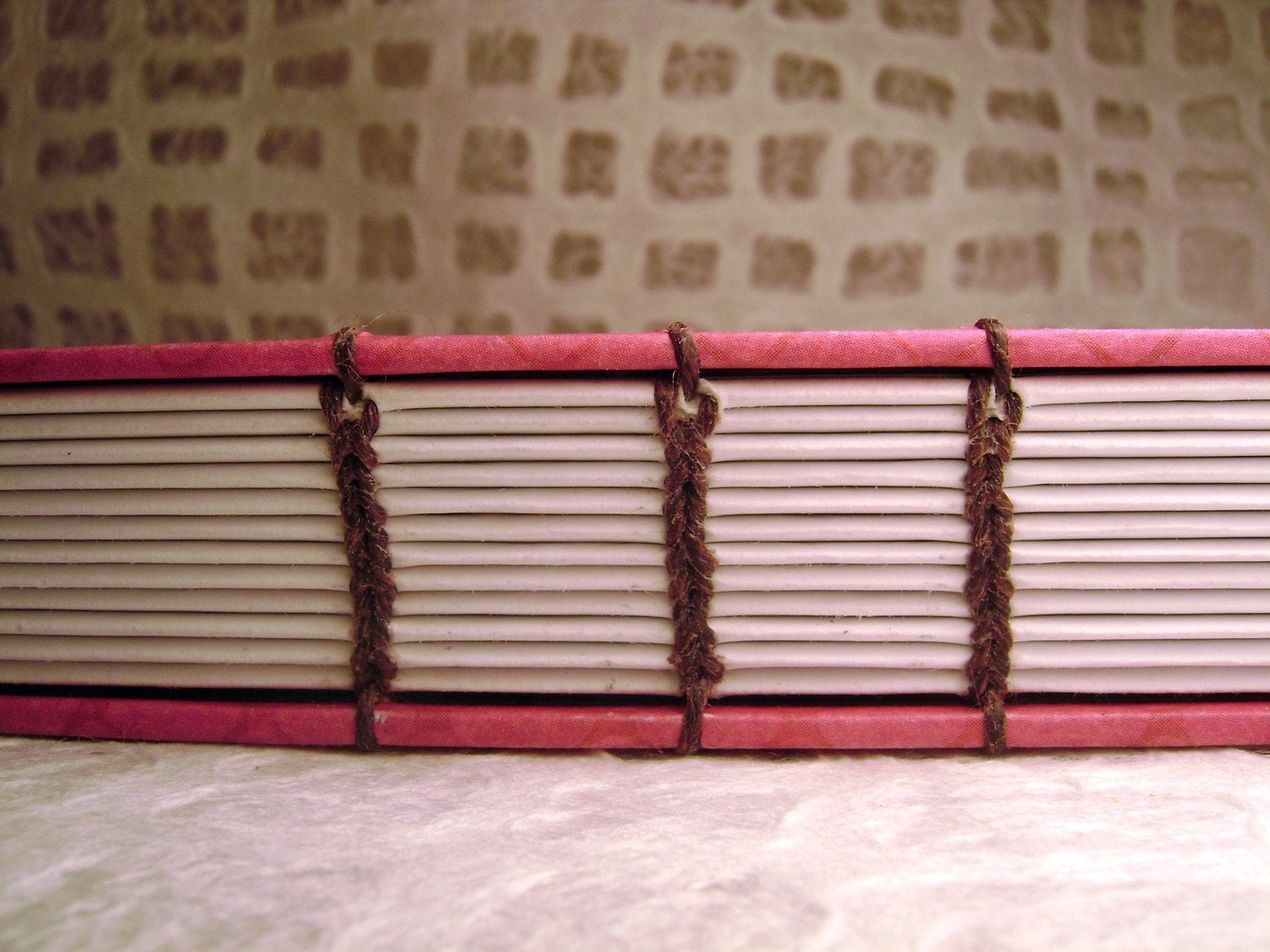 Customized Coptic Stitch Lined Journal
