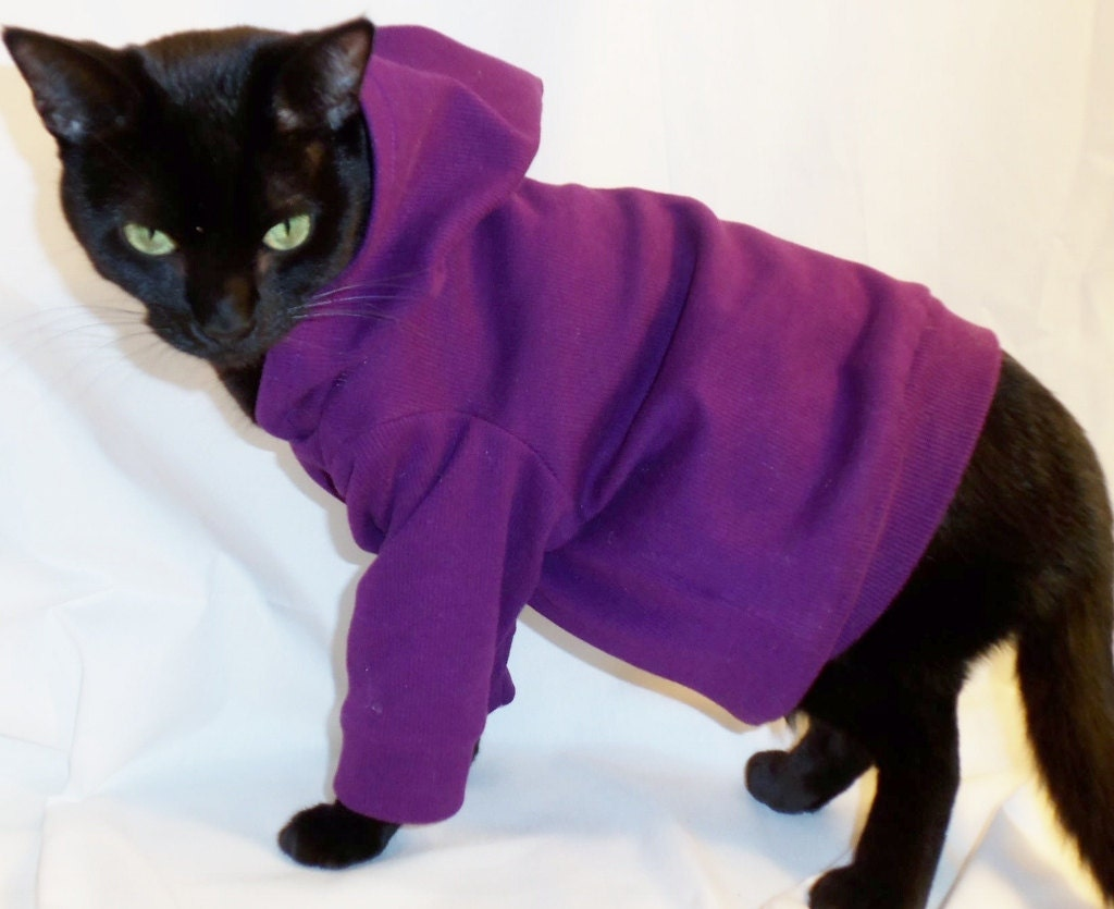 coolcats knit cat hoodie several colors available by