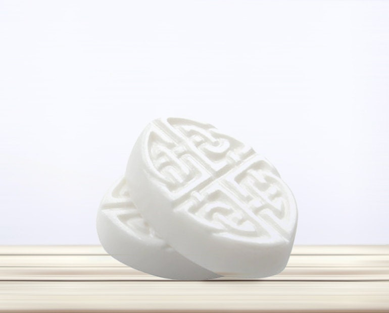 Peppermint Celtic Soap Bar - VerbenaApothecary