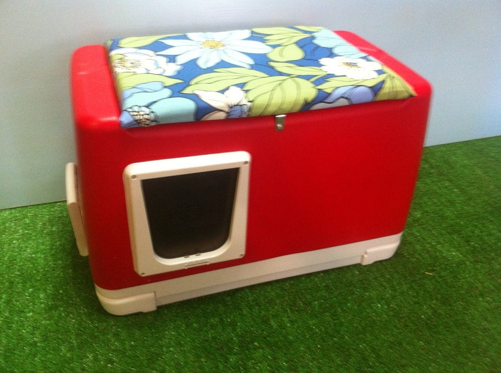 Cat Pod Outdoor Cat House shelter bed condo sanctuary by