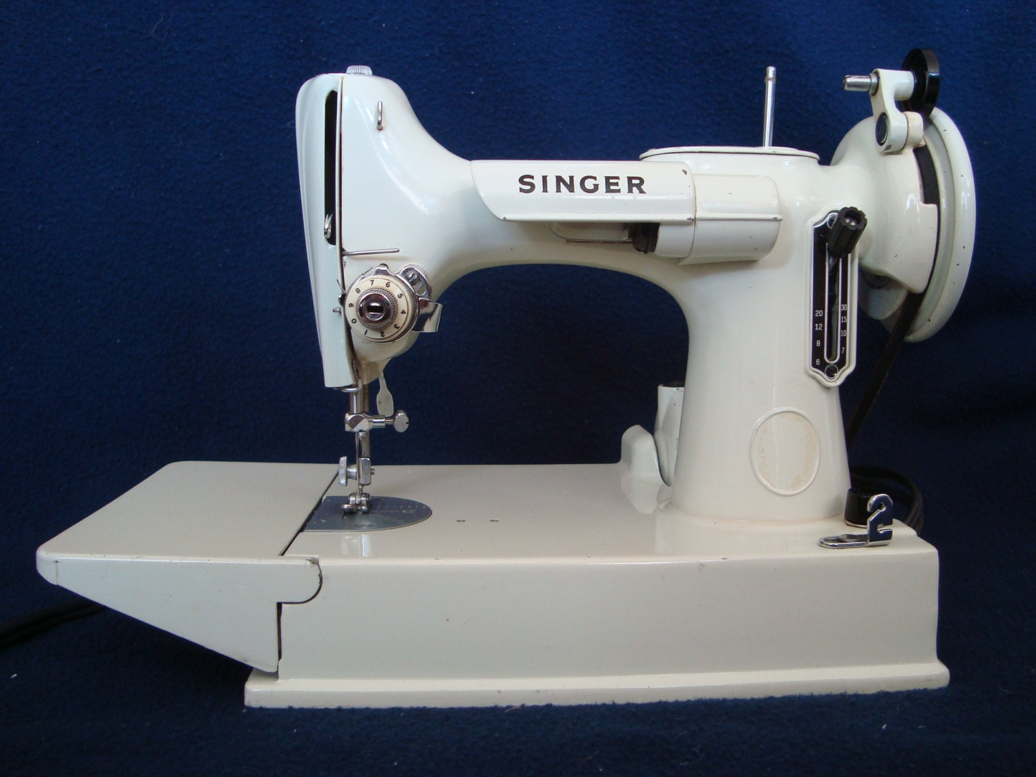 how to clean a singer 221k featherweight