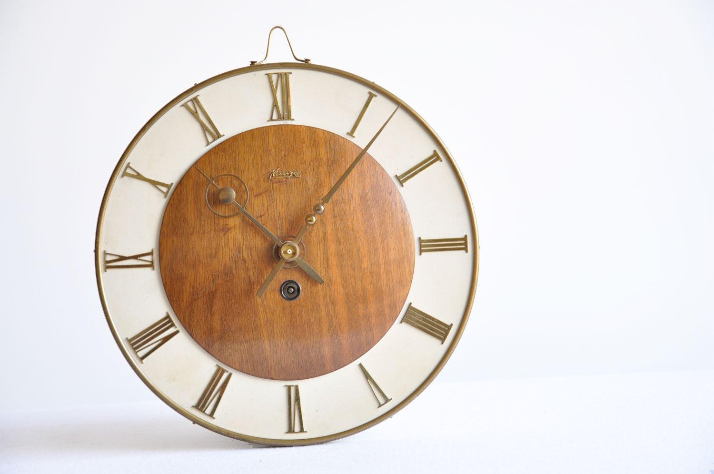 1930 39 s art deco kienzle wall clock by thelittlebiker on etsy
