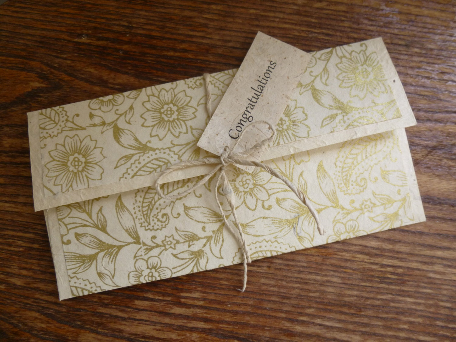 Personalised Wedding Gifts Voucher : Gift Voucher Sleeve, Gift Car Holder, Wedding Gift, One Personalised ...