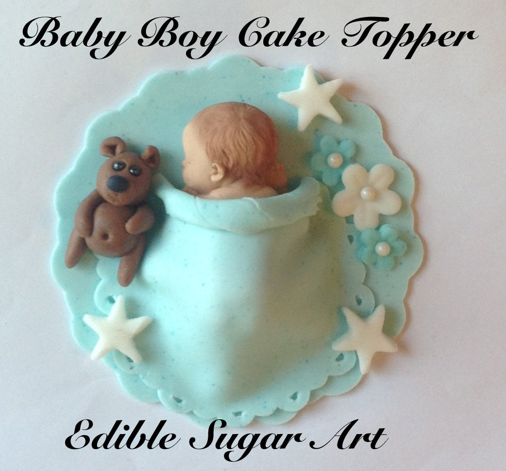 baby boy shower cakes without fondant