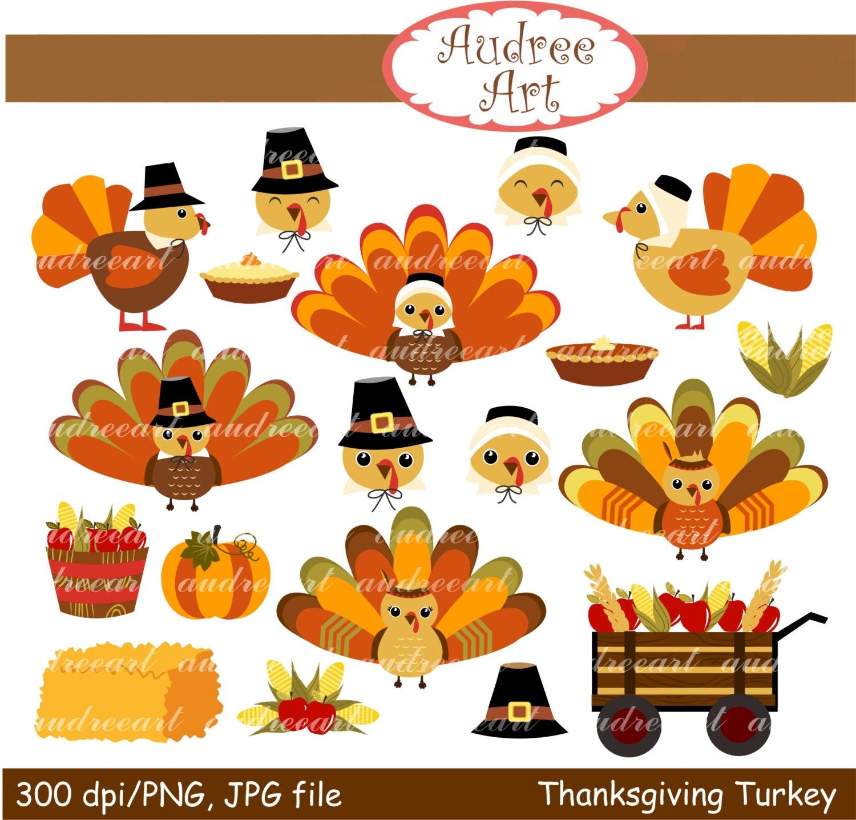 Thanksgiving clip art,fall clip art, turkey clip art,thanksgiving ...