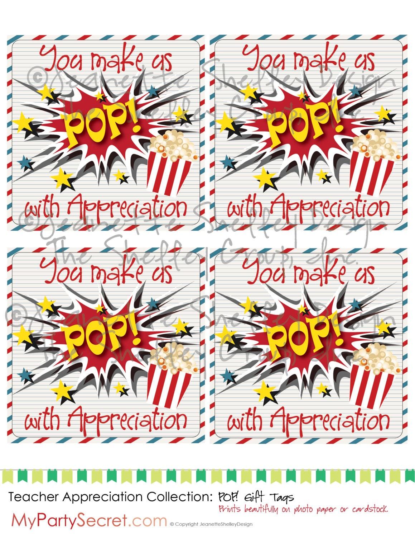 Revered image with regard to popcorn teacher appreciation printable
