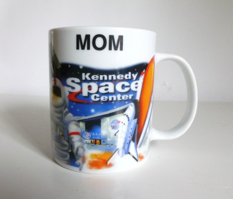 Vintage Souvenir NASA Kennedy Space Center MOM Ceramic by ...