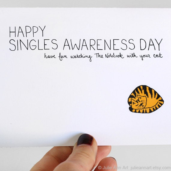valentines day quotes for single friends anti valentine card single awareness day by julieannart