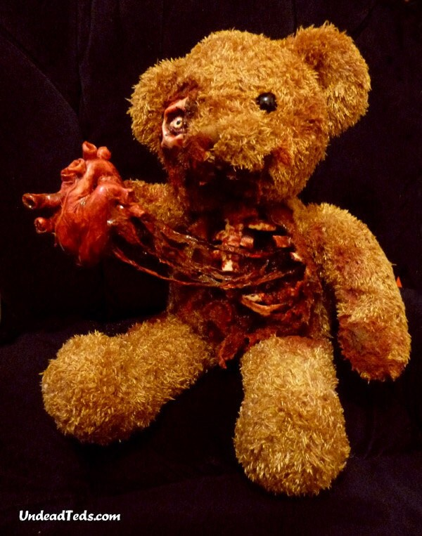 Valentine UnDeadTed offering you his heart