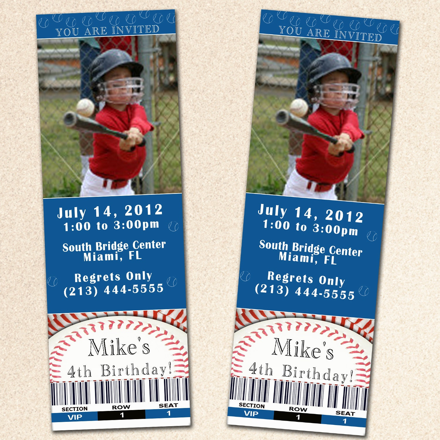 Baby Shower Baseball Ticket Invitations with amazing invitations design