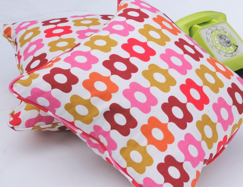 Decorative Pillow 18 X 18 Insert : Throw Pillow - Pair of 18