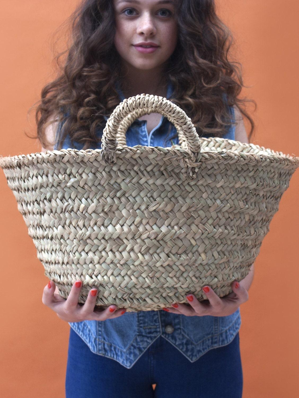 Moroccan Beldi Basket Medium