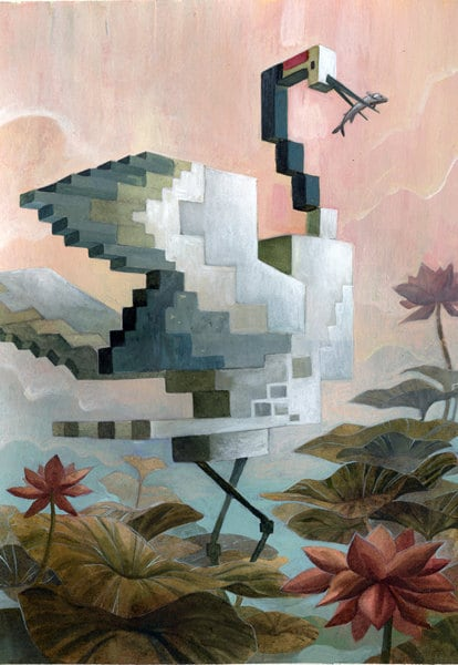 Crane by Laura Bifano