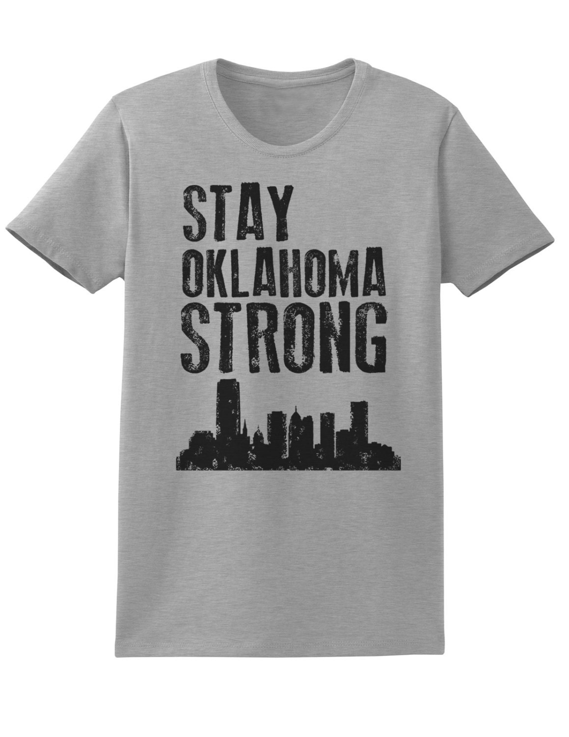 Ladies Stay Oklahoma Strong T-shirt