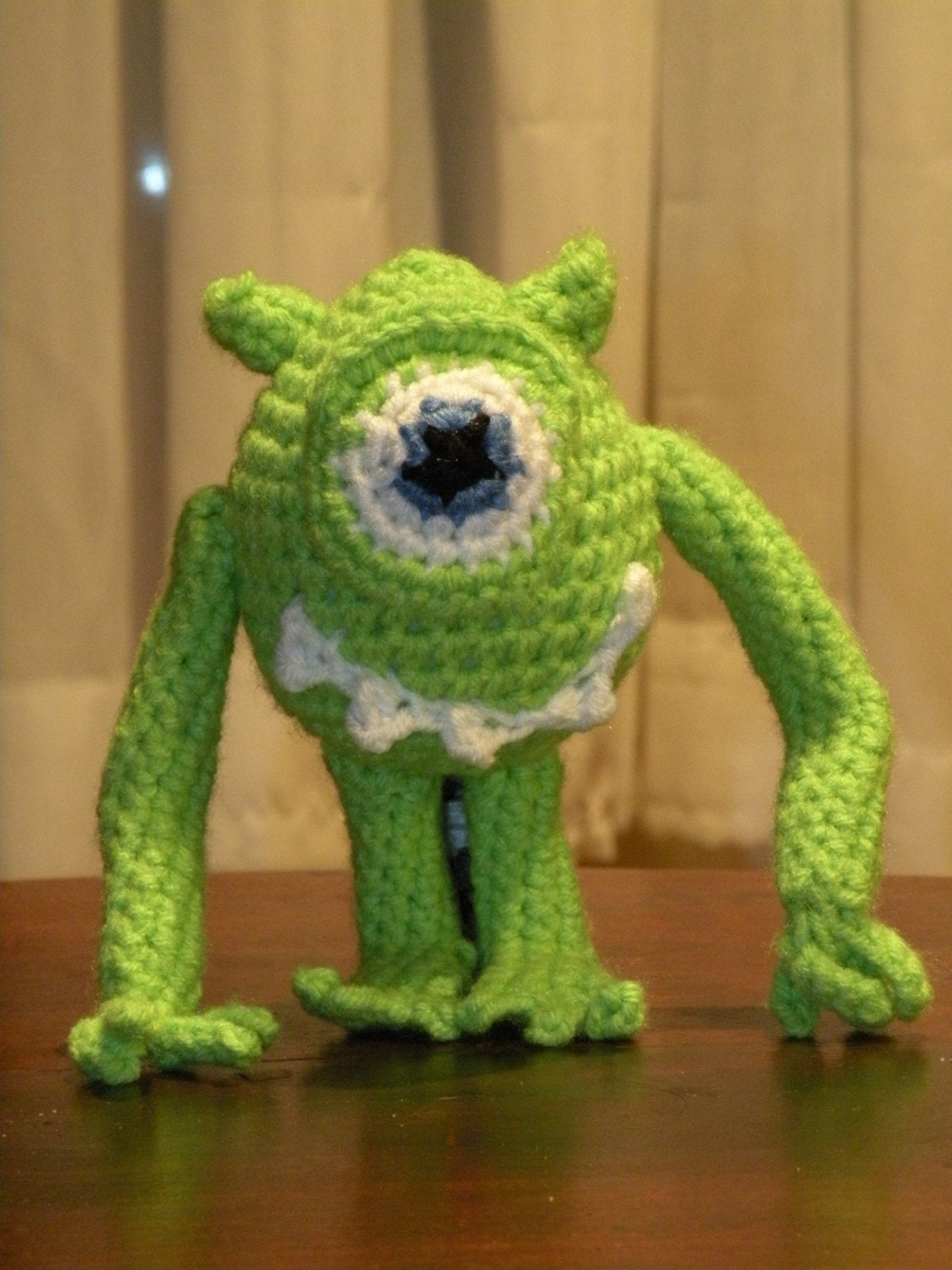 Amigurumi Monsters Inc : PDF Mike Wazowski from Monster Inc. amigurumi by ...