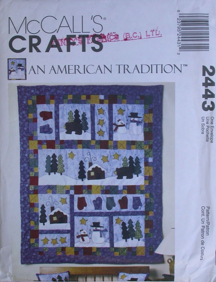 Christmas Quilt Block Patterns McCall's