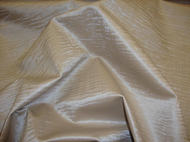 Luster metallic wet look distressed faux by fabulessfabrics - Fabric that looks like metal ...