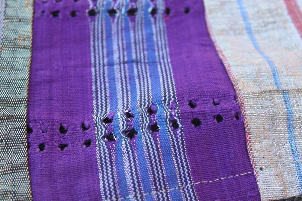 Aso Oke Fabric Medium From The Yoruba Tribe By Womanshopsworld