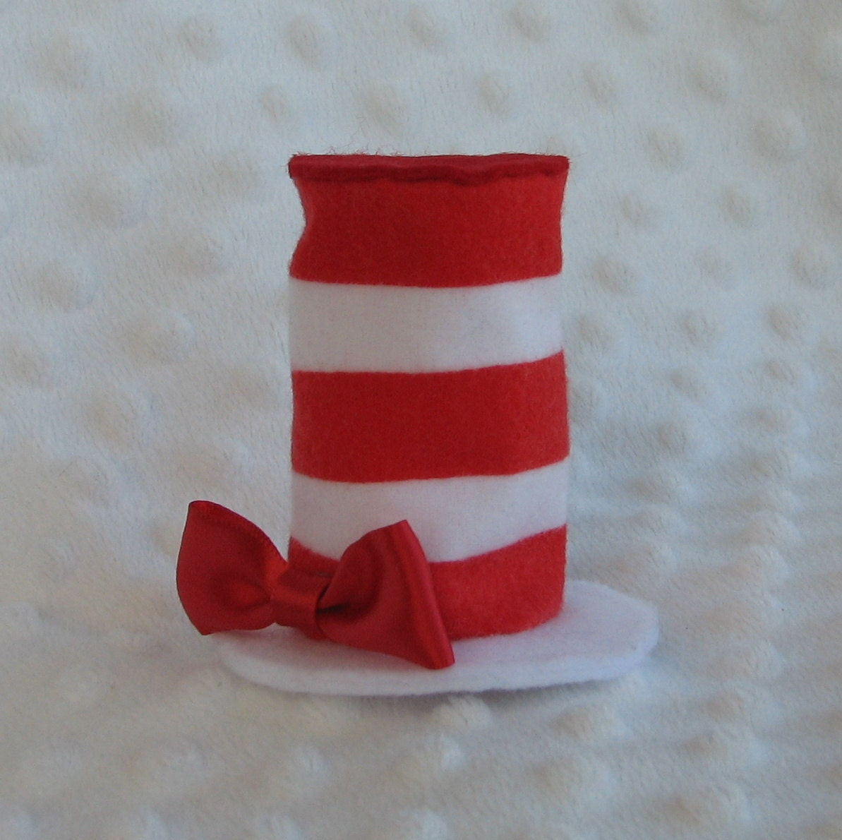 Dr Seuss Hat Clip Art Black And White Mini hat hair clip inspired by