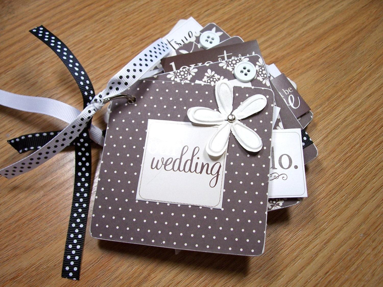 Our Wedding Mini Scrapbook Album Wedding Mini By HampshireRose