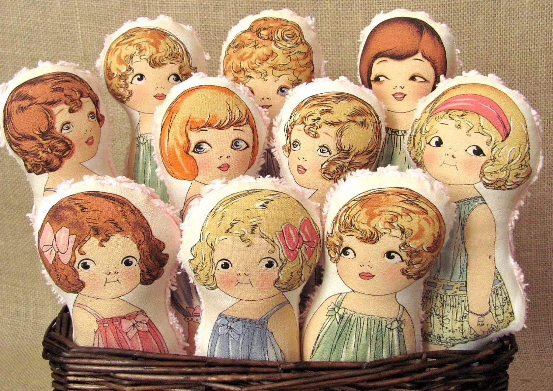 Vintage Fabric Doll 30