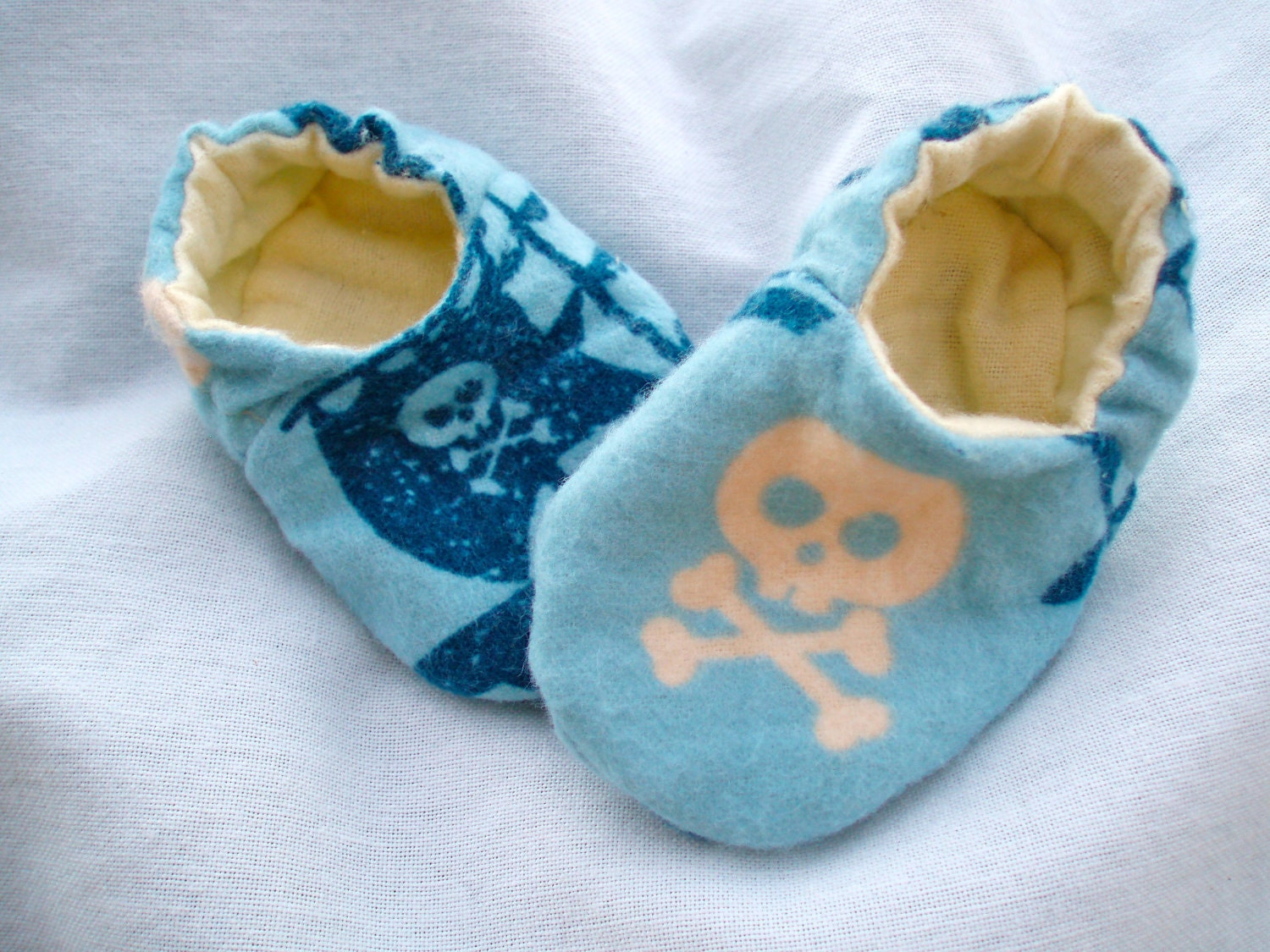 etsy.comNewborn Baby Boy Shoes Booties - Pirates. From JaclynsDesigns