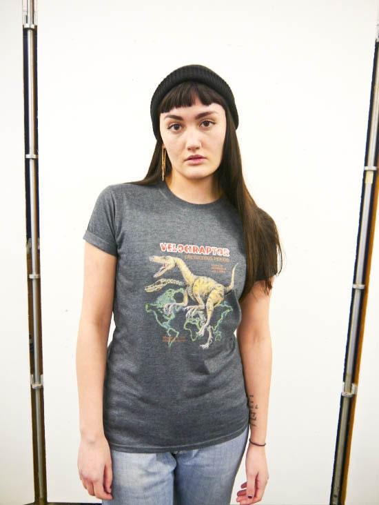Velociraptor Dinosaur tshirt Dinosaur top Dinosaur tee Dinosaur shirt Prehistoric Dinosaurs Jurassic WildlifeNew