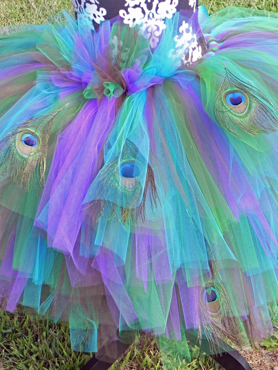 Peafection Peacock Adult Elaborate Tutu Costume