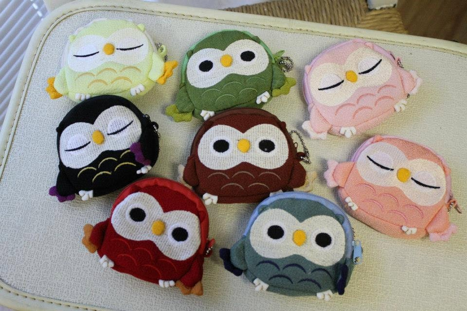 Adorable Owl Wallets Change Purse - HandmadebyAmandaEsau