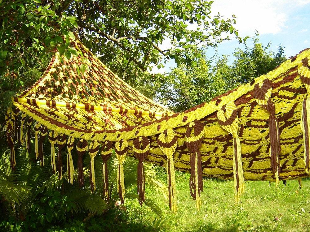 Уникальное ручное плетение гамака осуществляется професси... .  - Мои фотографии - Макраме - Персональный сайт.