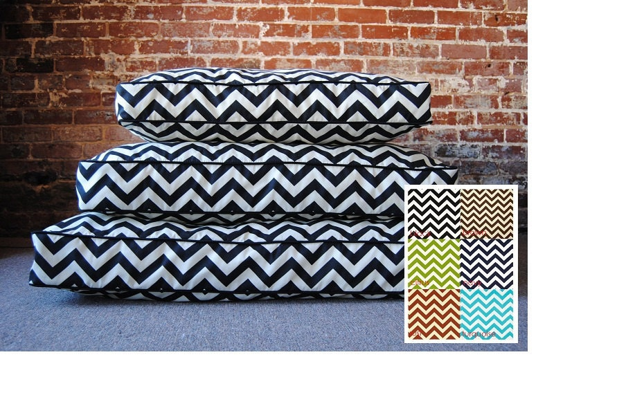 "Medium - Chevron Dog Bed - 30"" x 36"""