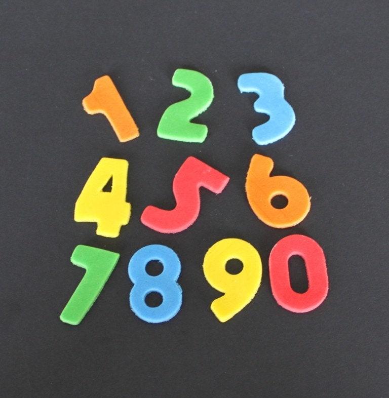 Edible Cake Decoration Numbers : Items similar to 12 EDIBLE FONDANT SUGAR NUMBER CAKE ...