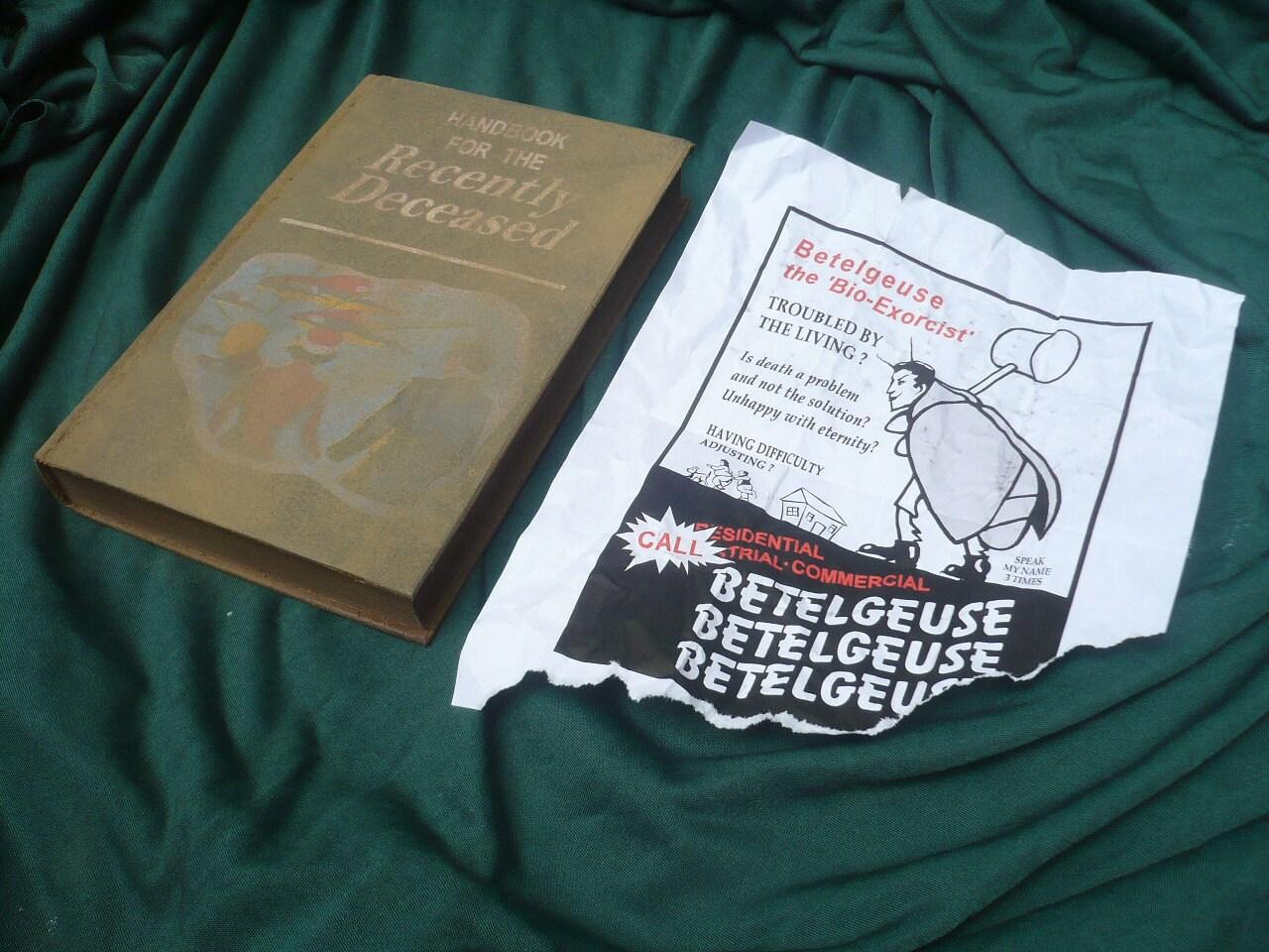beetlejuice handbook for the recently deceased