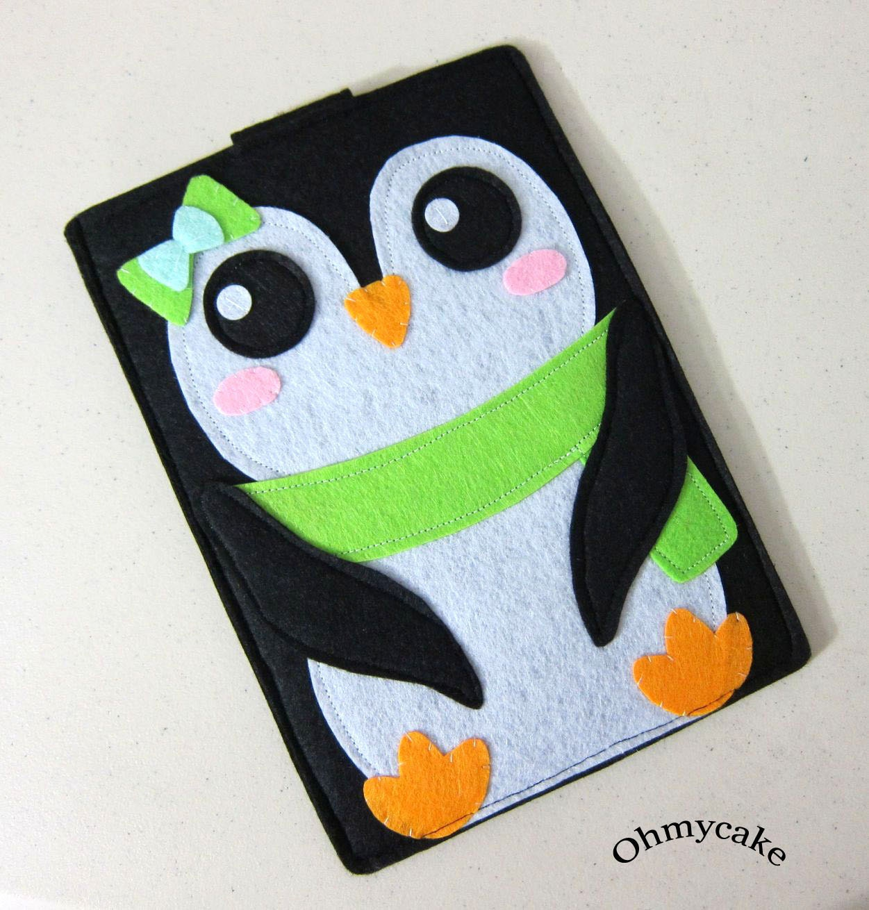 Penguin Book Kindle Cover : Samsung galaxy tab case google nexus kindle by