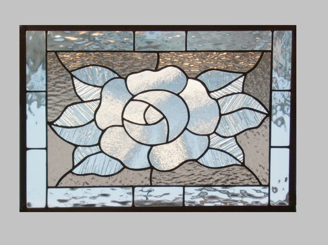 how to clean the lead on stained glass