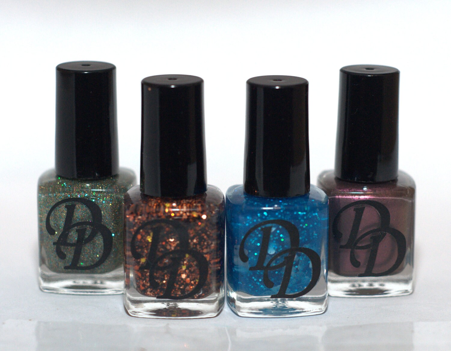 Complete Fall Collection- Mini Bottles Handmade Nail Polish