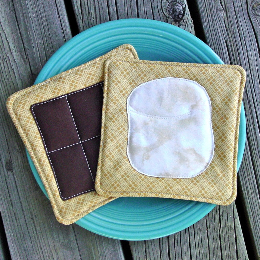 S'mores Pot Holders - Insulated - Unique - Silly - Novelty -Smores - CoolTricks