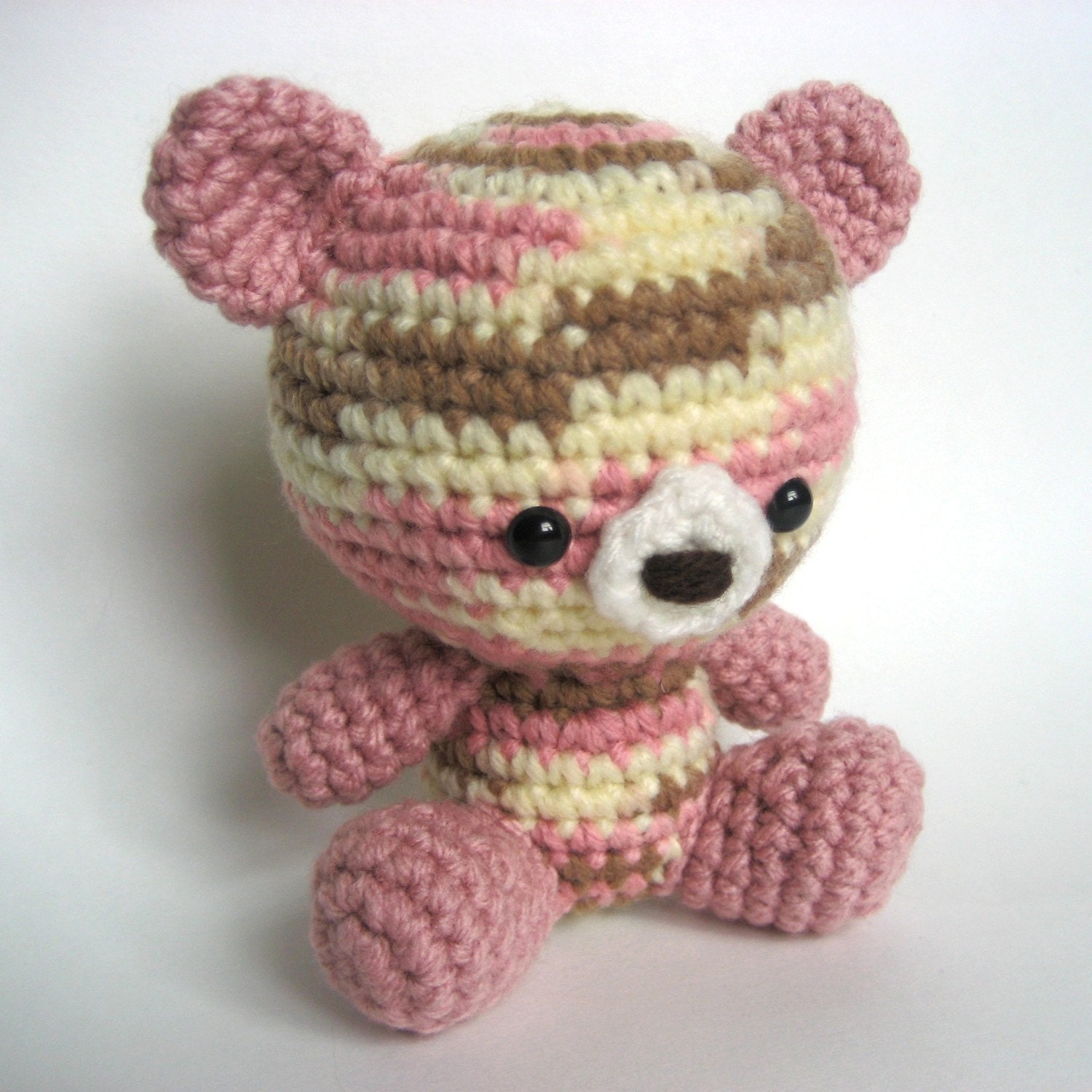 Amigurumi Crochet Teddy Bear Pattern by MsPremiseConclusion
