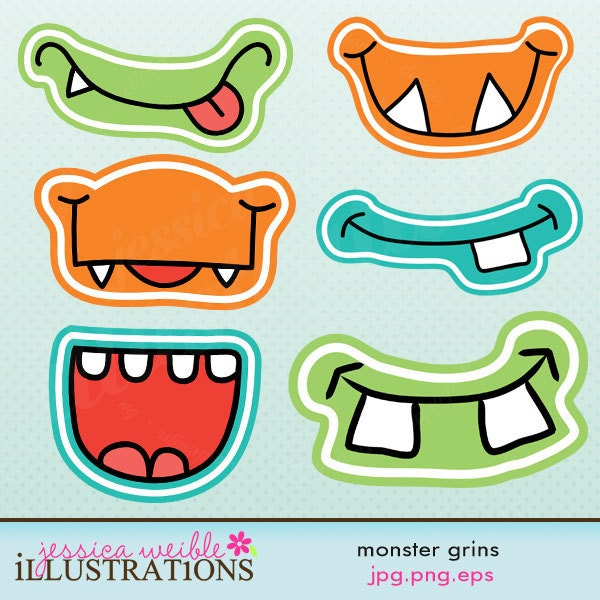 Pin Monster Mouth Clip Art Pictures on Pinterest