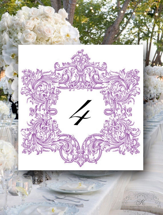 Wedding Table Numbers, Your Custom Color, Event Table Numbers, Bridal Shower Table Numbers, Wedding Place Cards