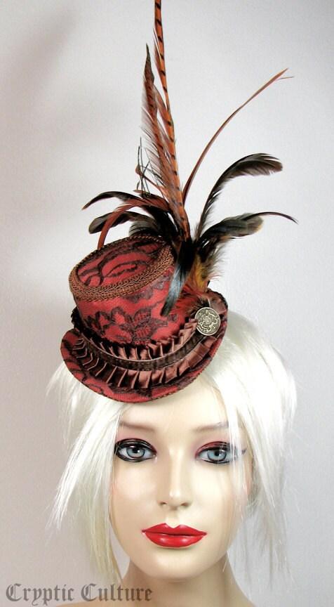 Autumn Harvest Mini Top Hat.